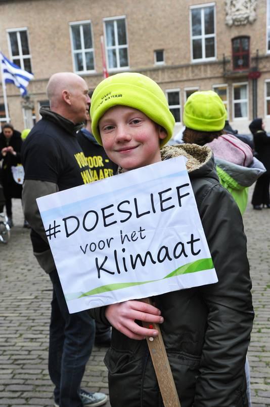 """Matties Dellaert: ,,Als we zo doorgaan, ben ik bang dat de aarde kapot gaat en dat Nederland zal overstromen."""""""