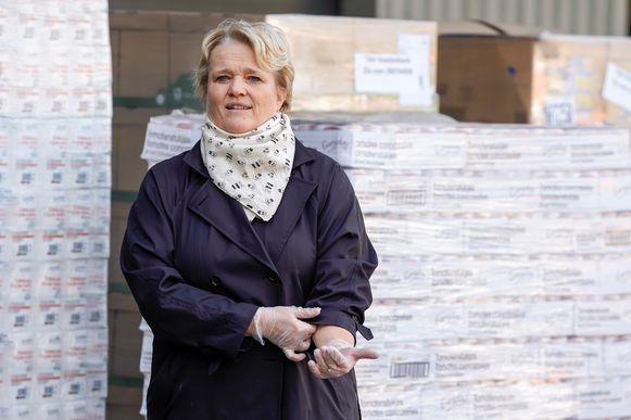 Minister van Consumentenzaken en Economie Nathalie Muylle.
