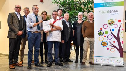 Woonzorgcentrum 'Ter Meere' ontvangt 'Qualitree-label' van Sodexo