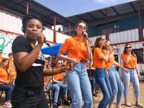 Zuid-Afrika maakt indruk op leerlingen Meander Bigband uit Zwolle
