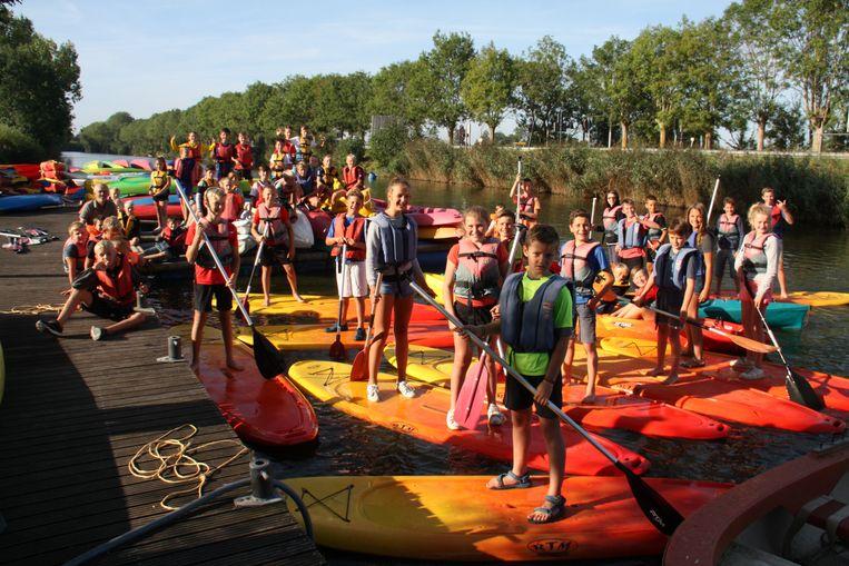 Sportkamp Buitenbeentje in Diksmuide was met bijna 100 deelnemers een succes