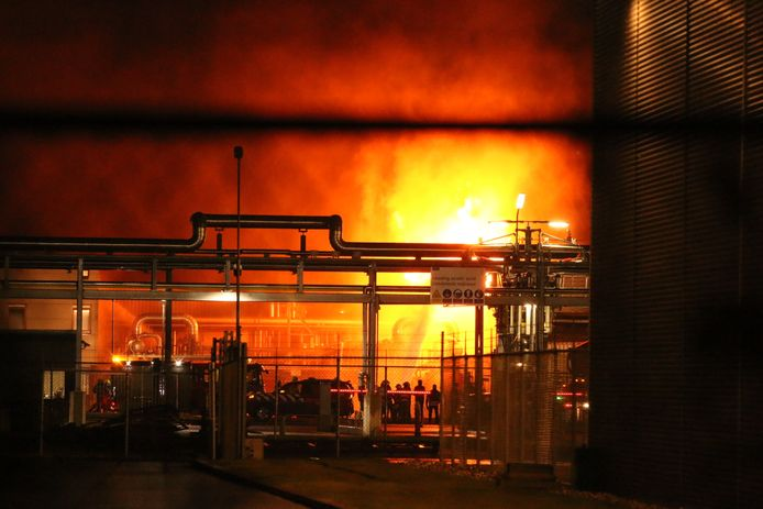 De grote brand op het Arnhemse industrieterrein.