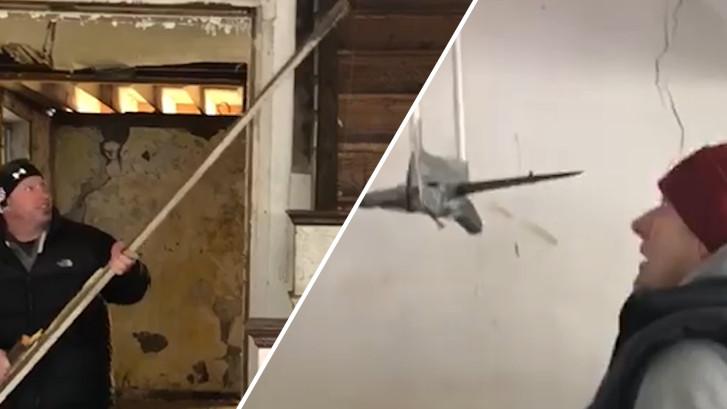 Ontwikkelaars vinden boobytrap in verlaten huis