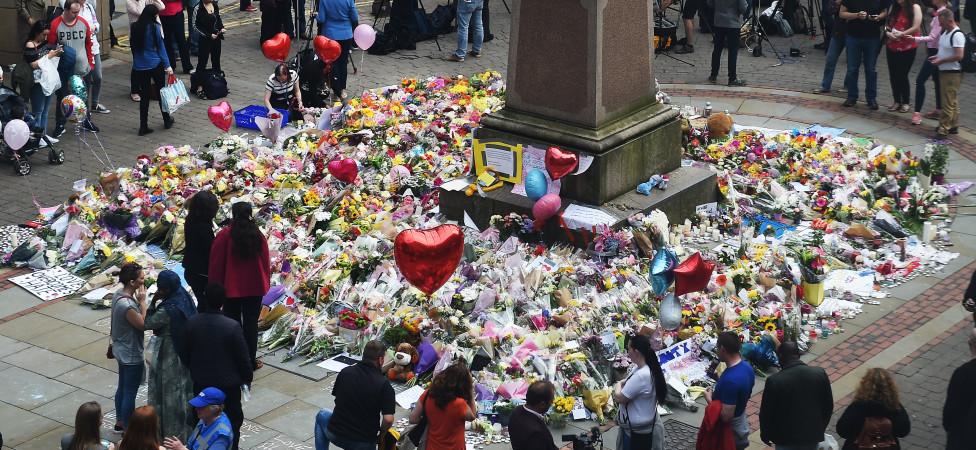 In het centrum van Manchester heerst een onwerkelijke kalmte