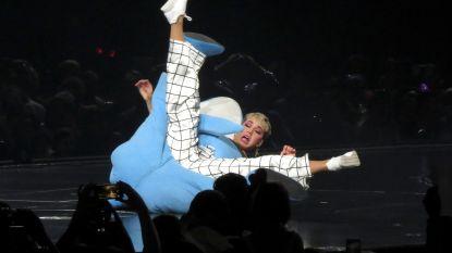 Katy Perry vecht met 'haai'