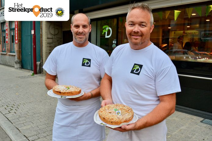 Kevin Blockx en Pieter Vander Bruggen maken de taart dagelijks voor de liefhebbers.