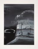 Een van de kunstwerken van Har van der Put, een van de dertien Bossche kunstenaars die in Schijndel exposeren.