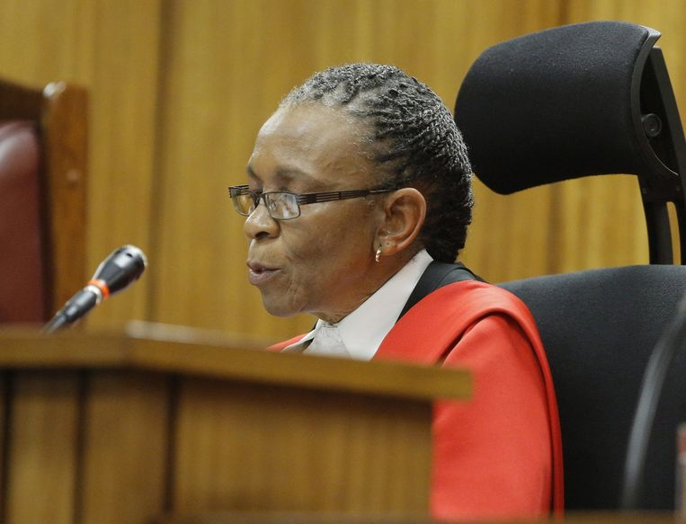 Rechter Thokozile Masipa.