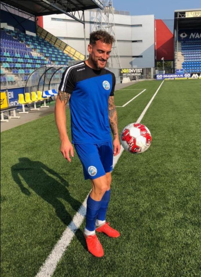 Joachim op proef bij FC Den Bosch
