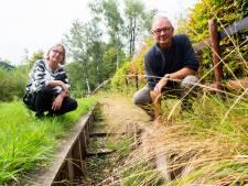 Watertekort in de Schoolbeek in Ugchelen, maar is de droogte de enige oorzaak?
