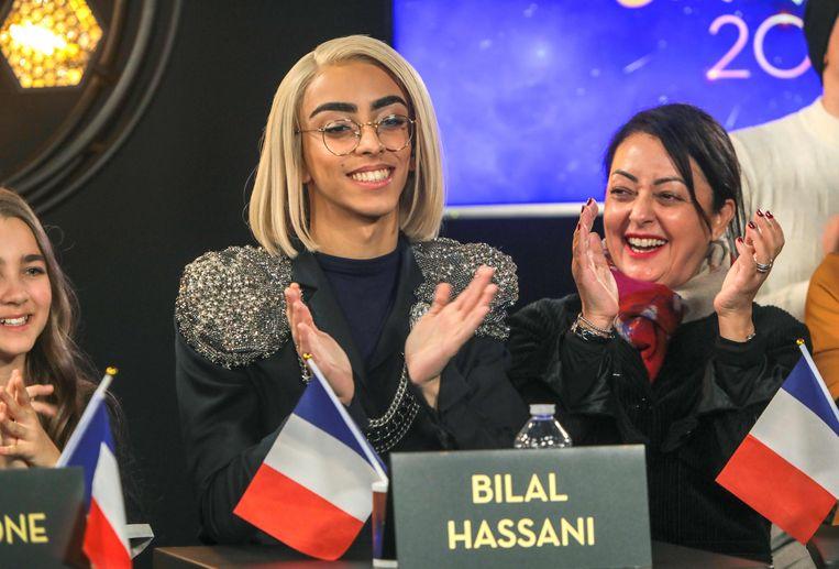 Bilal Hassani mag naar het Songfestival voor Frankrijk.