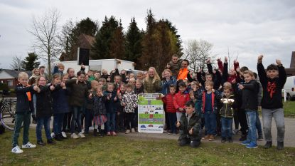 Basisschool Klim-Op Plockroy promoot zelf éénrichtingsverkeer