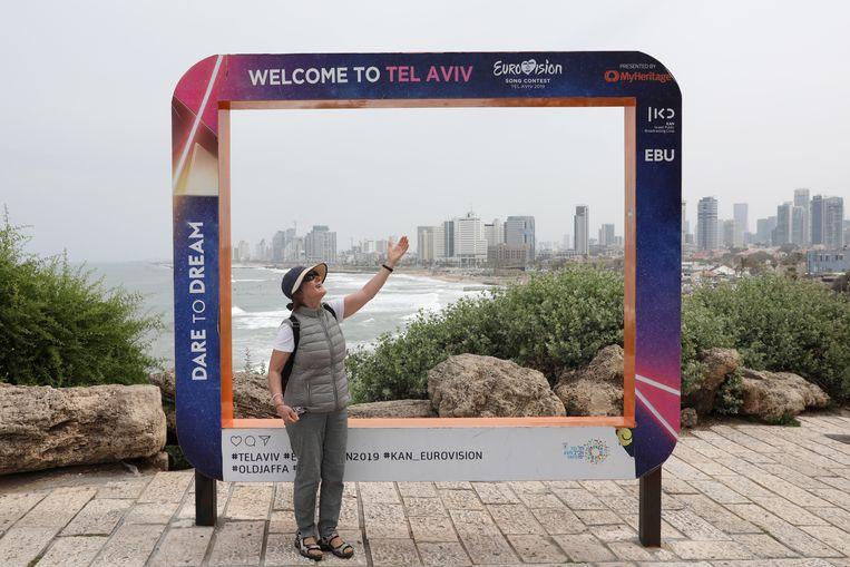 Het Eurovisiesongfestival strijkt volgende week neer in Tel Aviv. Beeld EPA