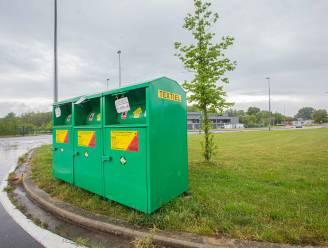 Textielcontainers verdwijnen uit het Nijlense straatbeeld