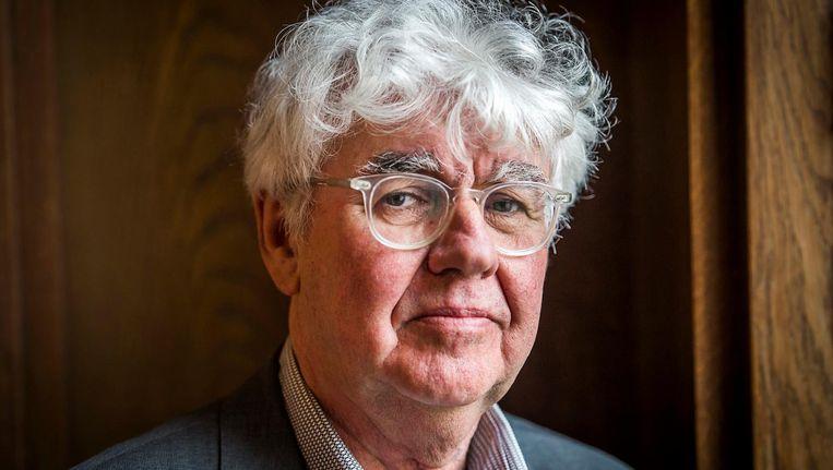 Geert Mak schuift als één van de gasten aan in College Tour. Beeld anp
