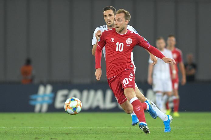 Christian Eriksen speelt zaterdag met Denemarken de cruciale wedstrijd tegen Zwitserland.