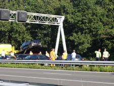 Auto's in cirkel op A1 bij Voorthuizen: weg weer vrij