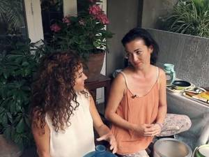 Katja aan de Kook in Kathmandu Deel 2