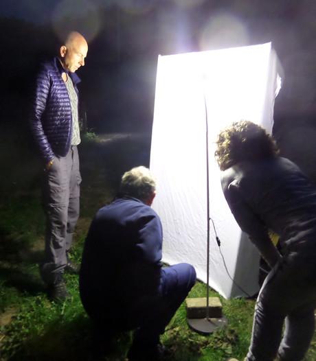 Speuren naar nachtvlinders op fort Giessen