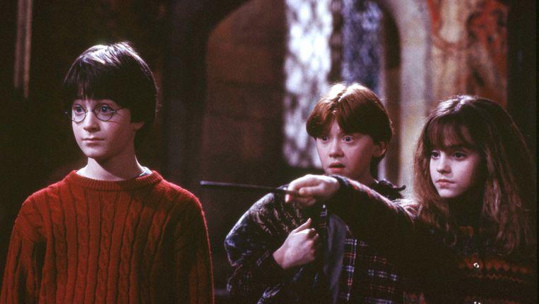 Scène uit Harry Potter Beeld null