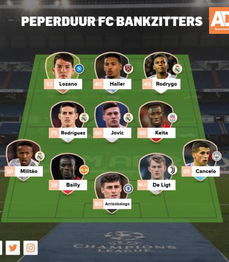 Dit elftal aan bankzitters kostte in totaal 640 miljoen euro