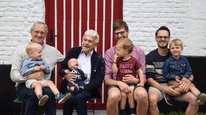Karel zorgt voor nieuw viergeslacht in familie Laeremans