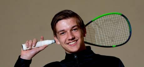 Squashtalent Tjeu Dubbeldam smijt niet meer met rackets
