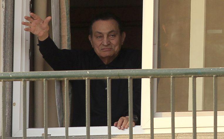 Egyptische activisten zijn vaak van mening dat de reden waarom het zover heeft kunnen komen alles te maken heeft met hoe er in het verleden met seksueel geweld werd omgegaan: voormalig president Hosni Mubarak (foto) deed weinig om de daders te straffen. Beeld reuters