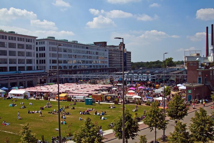 De Feelgood Market op Strijp-S in Eindhoven.