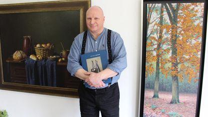 Eric de Vree stelt zijn tweede kunstboek voor