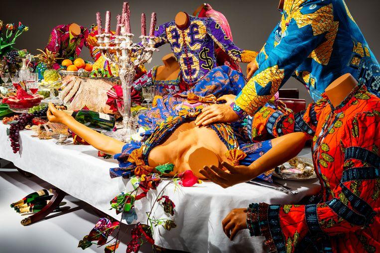 The Last Supper van Yinka Shonibare. Beeld Pauline Niks