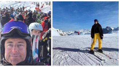 """Zelfs op vakantie provoceert Bart De Wever: """"Buiten piste skiën mag eigenlijk niet, maar het is toch zo plezant"""""""