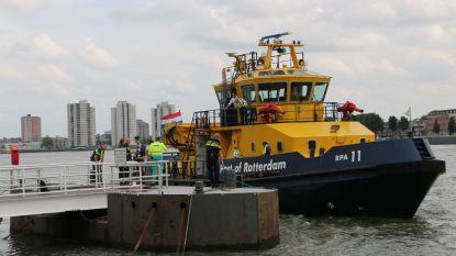 Belgische vrouw (62) komt om na aanvaring op Nieuwe Maas in Rotterdam