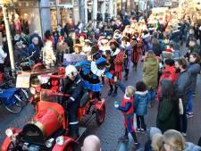 Grote opkomst tijdens gezellige Sinterklaasintocht in Amersfoort