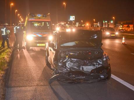 Twee auto's total loss door ongeluk op A4