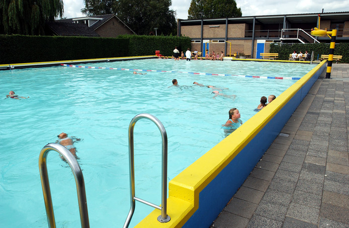 Het huidige zwembad in Oudewater