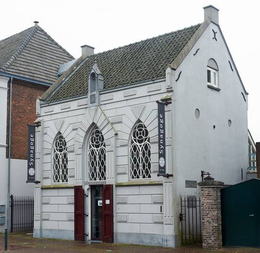 In de voormalige synagoge van Veghel zetelt nu een Italiaans restaurant.
