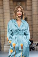 Caroline Receveur a défilé pour L'Oréal Paris à la Fashion Week.