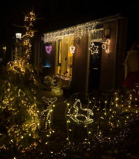 Waar staat het mooist verlichte kersthuis van de Liemers?