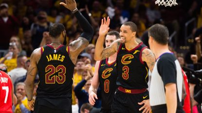 Cleveland staat in finale van Eastern Conference - Trainerswals in de NBA