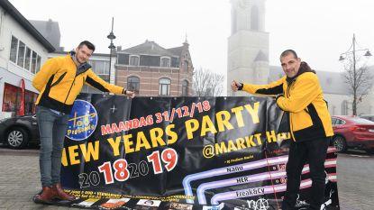 Markt maakt zich op voor 7.000 feestvierders