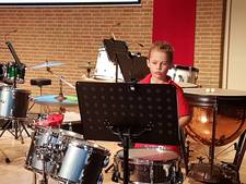 De jongste generatie betreedt de bühne bij Fanfare Concordia Liempde
