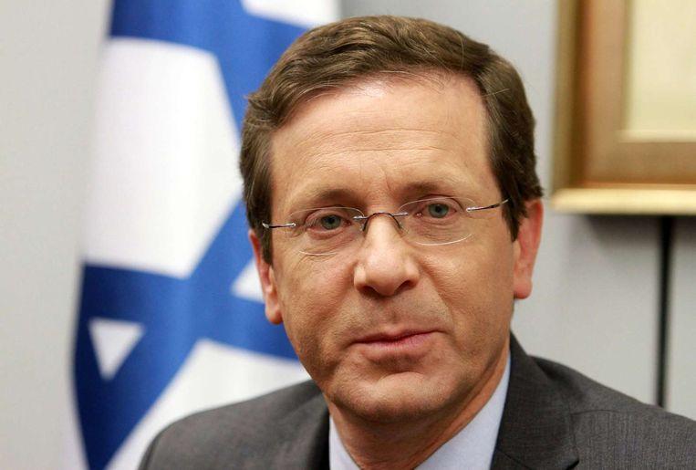De fletse Isaac Herzog zal grote moeite krijgen om een linkse coalitie te vormen Beeld afp