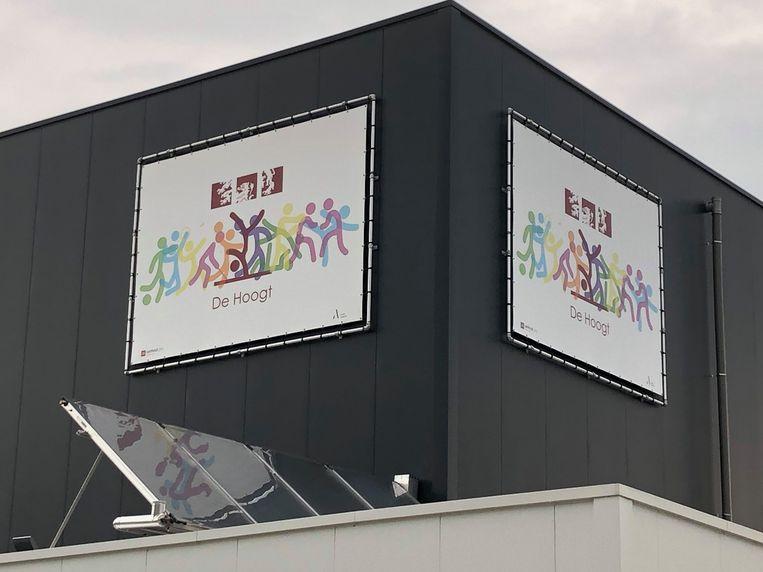 De nieuwe hal van sportpark De Hoogt in Oud-Turnhout