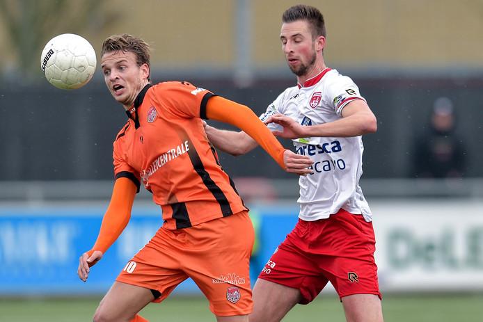 Joran Schröder beleeft bij SteDoCo een ongekend productief voetbalseizoen.