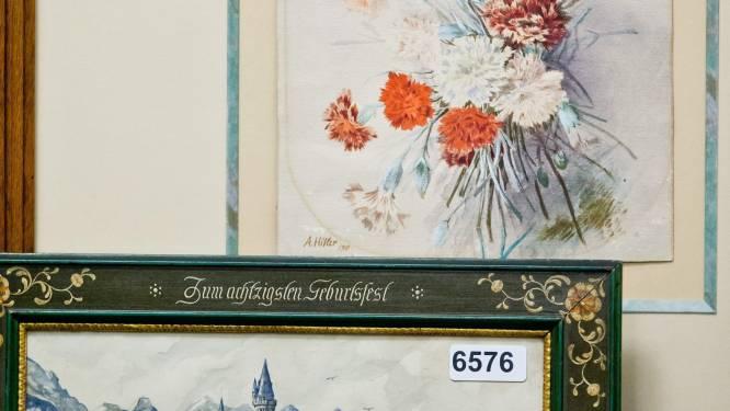 Schilderijen 'Hitler' brengen 391.000 euro op