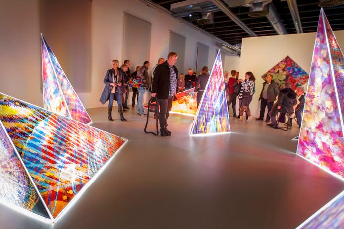 Het Stedelijk Museum in Schiedam tijdens de vrijwilligersdag een maand geleden.
