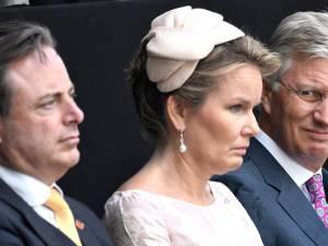 Bart De Wever a reçu le couple royal pour commémorer la libération d'Anvers