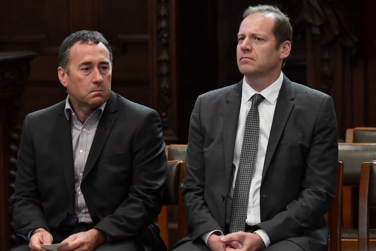 Thierry Gouvenou (links) naast Christian Prudhomme (rechts).