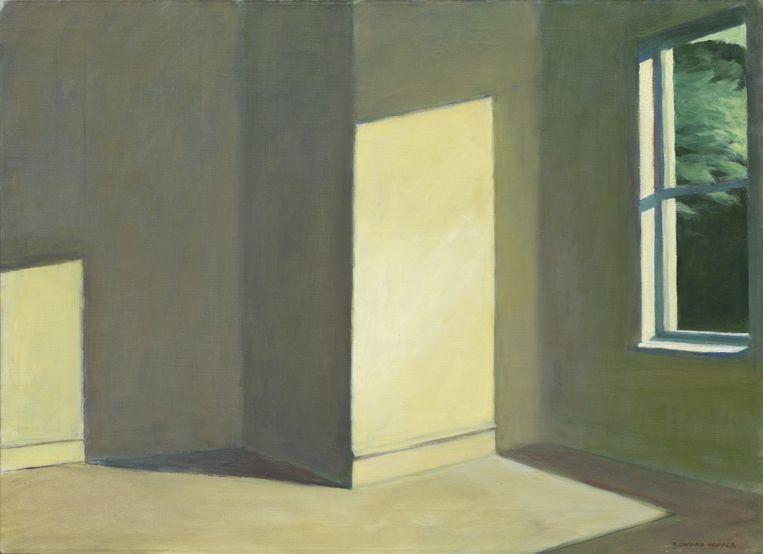 Sun in An Empty Room, 1963, uit privécollectie. Beeld